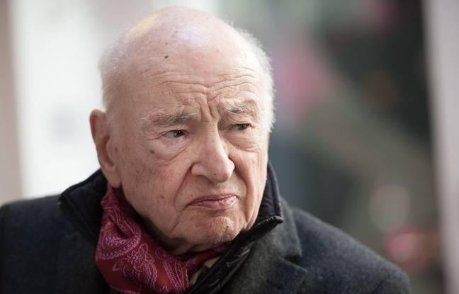 Le philosophe Edgar Morin, le 3 février 2014 à Paris.