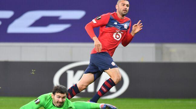 Losc-Sparta Prague: Yilmaz double la mise et qualifie Lille en seizièmes de finale...Revivez le match en live avec nous