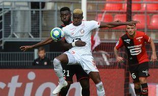 Victor Osimhen et les Lillois reviennent de Bretagne avec le point du match nul.
