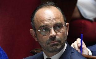 Edouard Philippe à l'Assemblée nationale, le 24 juillet 2018.