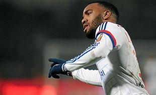 Alexandre Lacazette a encore inscrit un but dimanche face à Lens, son 19e en 21 rencontres cette saison.