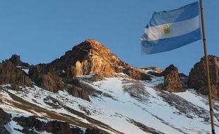 Cerro Aconcagua, dans la province de Mendoza en Argentine, le 29 Février 2012. (Illustration)