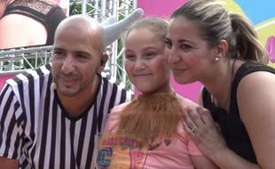 Leyna et Samia, lauréate de la Barbichette Cup le samedi 17 juin à Paris