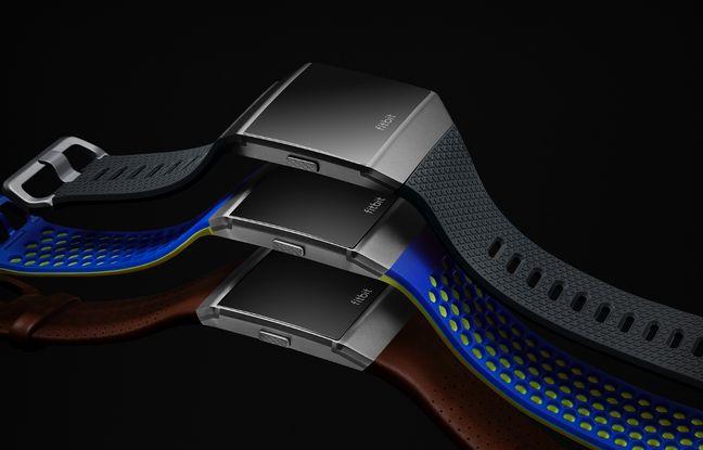 La montre Ionic de Fitbit.