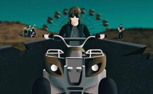 Le clip de «Trash for legacy» du groupe Efyx est un film d'animation réalisé par le leader chanteur.