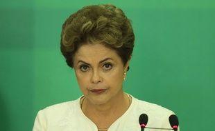 La présidente du Brésil Dilma Rousseff, à Brazilia le 2 décembre 2015.