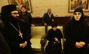 Treize religieuses enlevées depuis trois mois, ont été libérées lundi 10 mars 2014 en Syrie