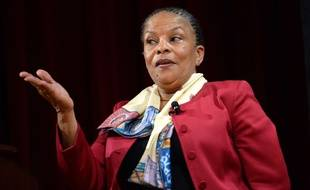 L'ex-ministre de la Justice Christiane Taubira, le 27 janvier 2016 à New York.