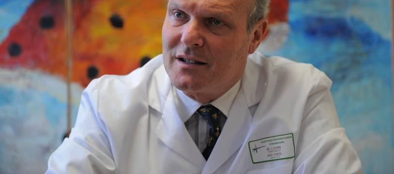 Israël Nisand chef du département de gynécologie obstétrique au CHU de Strasbourg (Archives)