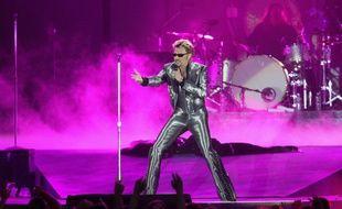 Johnny Hallyday le 11 juin 2003 au Parc des Princes
