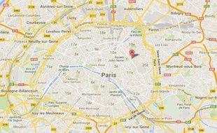 Paris, XXème arrondissement, rue de Pali-Kao