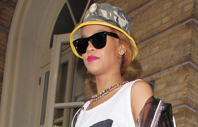 Rihanna et son bob en 2013.