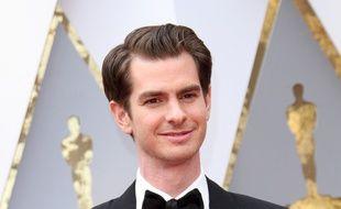 L'acteur Andrew Garfield aux Oscars