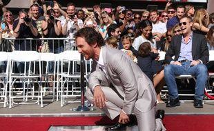 Matthew McConaughey, le 17 novembre 2014, à Los Angeles.
