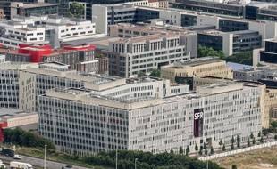 Le siège de SFR à Seine-Denis.
