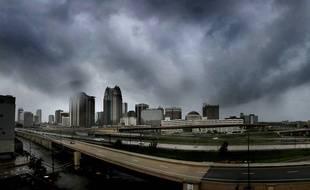 Orlando (Floride) avant l'arrivée de l'ouragan Irma en 2017.