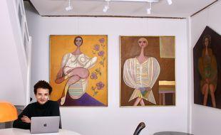 Léopold Cottineau, 24 ans, est à la tête de la Galerie des oubliés à Nantes