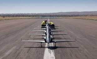 Boeing a fait s'envoler un escadron de jets autonomes