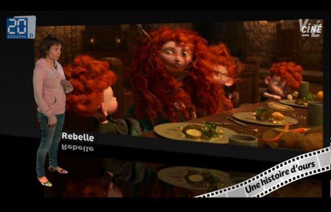 Caroline Vié, critique cinéma de 20 Minutes, décrypte «Rebelle» des studios Pixar.