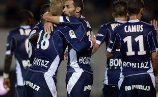 Cédric Barbosa à Lorient le 27 septembre 2014.