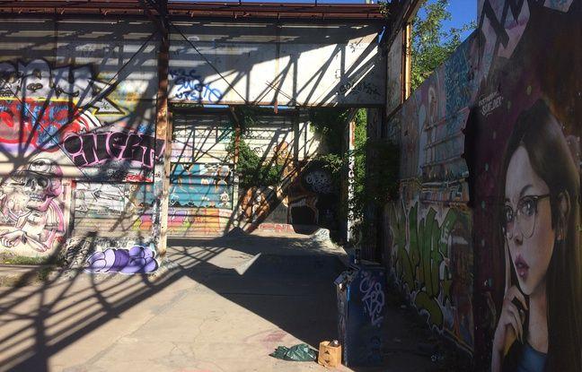 C'est à Darwin, dans un espace de libre expression, que l'artiste originaire de Lorraine a peint sa fresque.