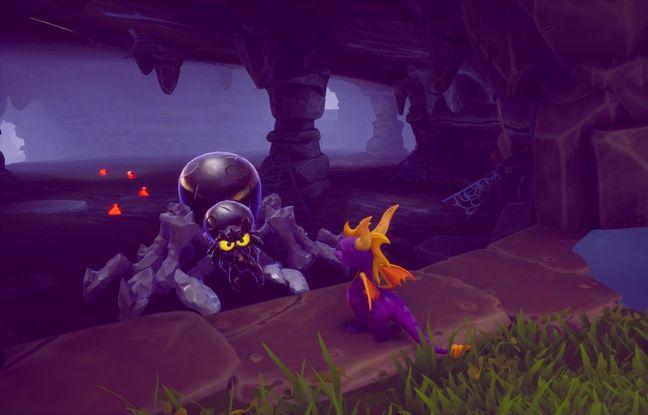 Spyro doit affronter de nombreux adversaires. La fuite est aussi une bonne option parfois.