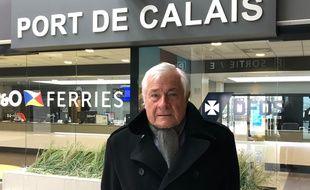 Jean-Marc Puissesseau, président  du port de Calais-Boulogne