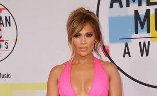 La chanteuse Jennifer Lopez.