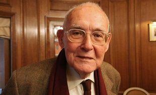Robert Sabatier, le 23 novembre 2010 à Paris.