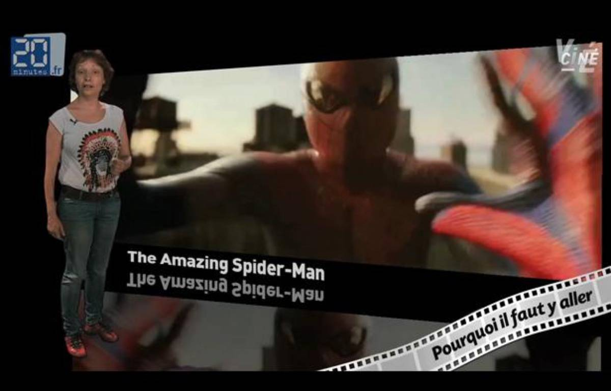 Caroline Vié décrypte «The Amazing Spider-Man» de Marc Webb – 20minutes