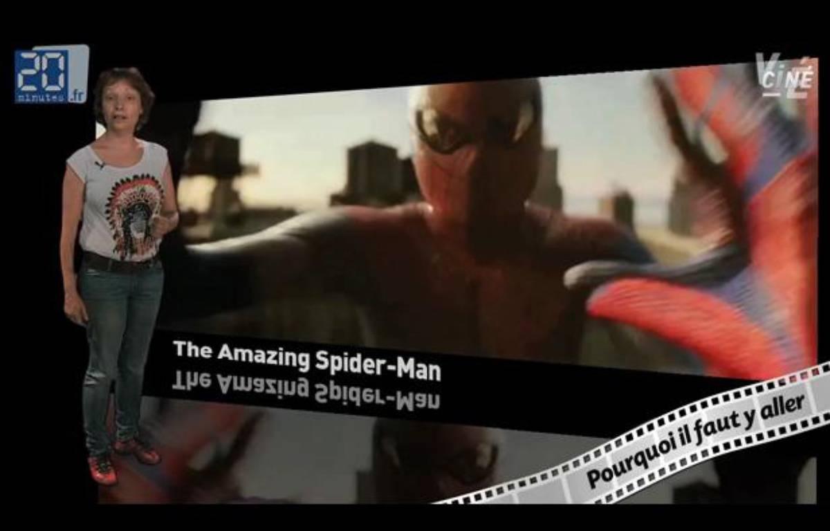 Caroline Vié décrypte«The Amazing Spider-Man»de Marc Webb – 20minutes