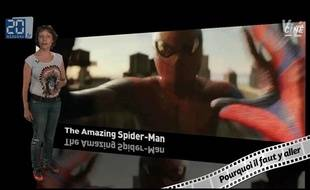 Caroline Vié décrypte «The Amazing Spider-Man» de Marc Webb