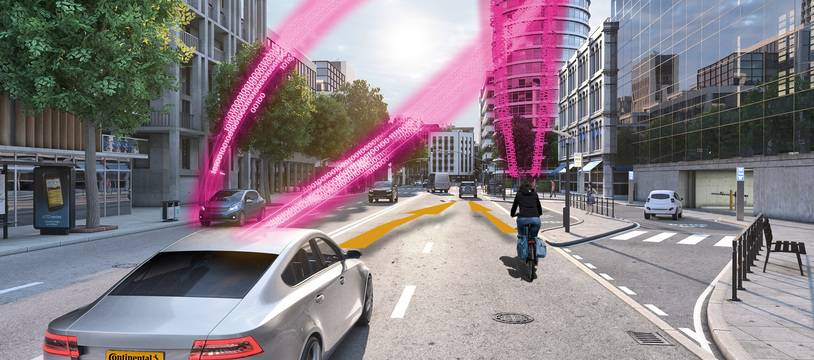 Continental et Deutsche Telekom travaillent pour la sécurité routière