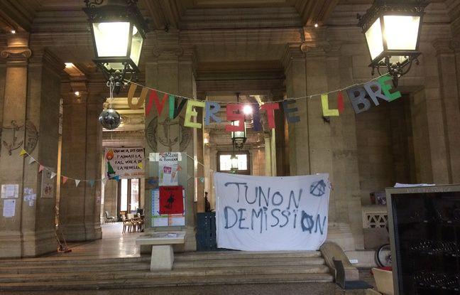 La fac de la Victoire est occupée depuis début mars par des étudiants opposés à la loi ORE (orientation et réussite des étudiants).
