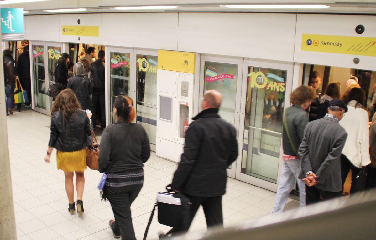 La station de métro République à Rennes. – C. Allain / APEI / 20 Minutes