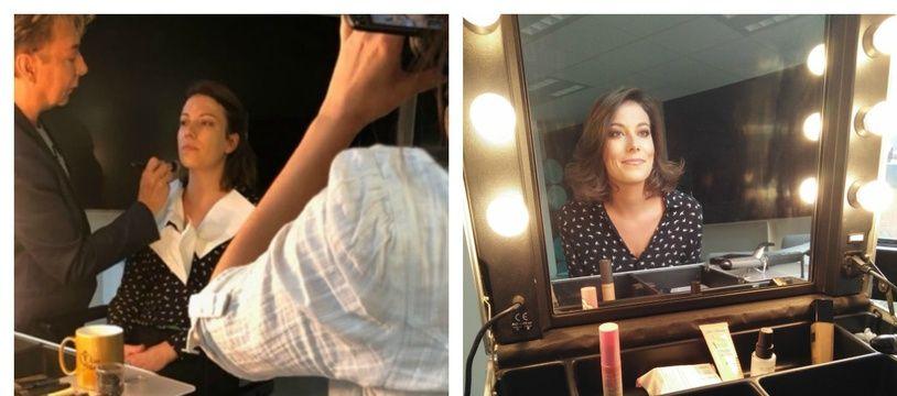 L'avant/après du maquillage à la Miss France, par Arnaud Sol Dourdin, le directeur artistique de Miss France pour les concours internationaux.