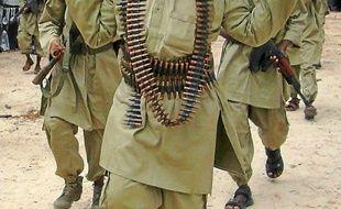 Les shebab, des combattants islamistes somaliens, le 30 octobre 2009.