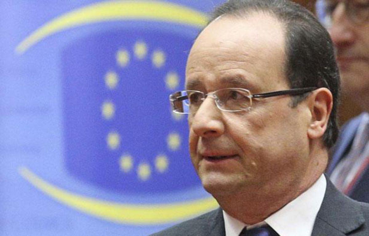 François Hollande au sommet de l'UE, Bruxelles, le 14 décembre 2012 – Yves Logghe/AP/SIPA