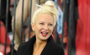 La chanteuse australienne Sia Fuhler lors de la sortir du film «Annie» au Ziegfeld Theatre de New York
