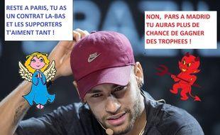 Gros dilemme en vue pour Neymar...