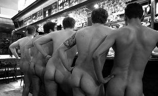 L'une des photos qui illustrera le calendrier de l'Iris Rugby.