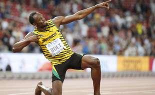 Usain Bolt décline le champ sémantique du tonnerre jusque dans sa descendance.