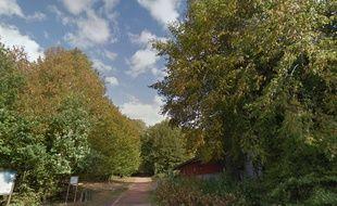 L'un des accès à la forêt de Nieppe (59)