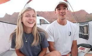 Gabby Petito et Brian Laundrie (capture vidéo).