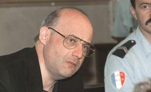 Jean-Claude Romand lors de son procès en 1996.