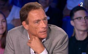 Jean-Claude Van Damme dans le numéro d'«ONPC» diffusé le 30 juin 2018.