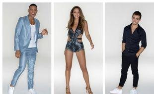 Terence Telle, Carla Ginola et Clément Rémiens, candidats de la saison 9 de «Danse avec les stars».
