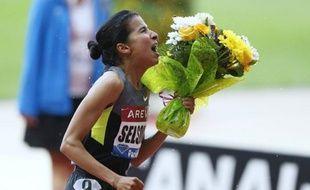 L'athlète marocaine Mariem Alaoui Selsouli est privée des jeux Olympiques de Londres (27 juillet/12 août), dont elle était une des favorites du 1500 m, après avoir été contrôlée positive à un diurétique début juillet, a indiqué lundi une source proche du dossier.