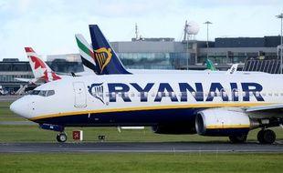 Un appareil de la compagnie Ryanair