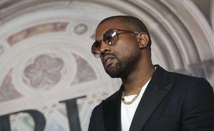 Le rappeur Kanye West.